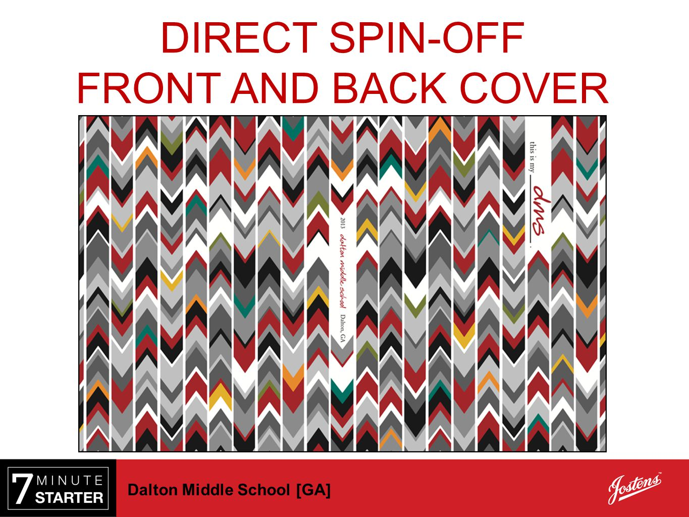 DIRECT SPIN-OFF FRONT AND BACK COVER Dalton Middle School [GA]